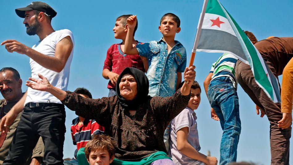 Syrische Oppositions-Anhänger