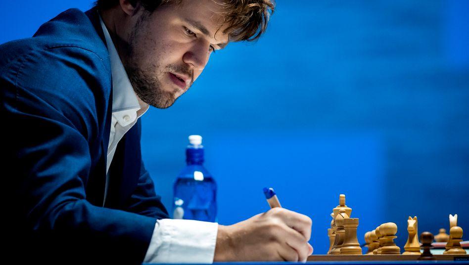 Magnus Carlsen: Auch ein Weltmeister macht mal Fehler