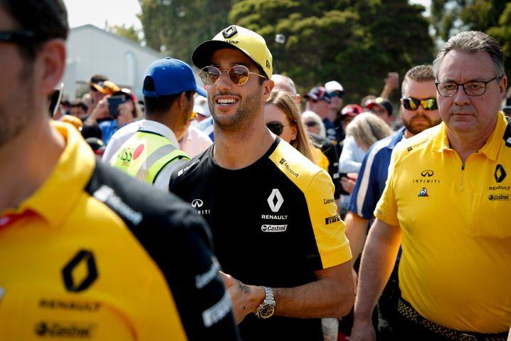 Wechselte nach vier Jahren bei Red Bull zu Renault: Daniel Ricciardo