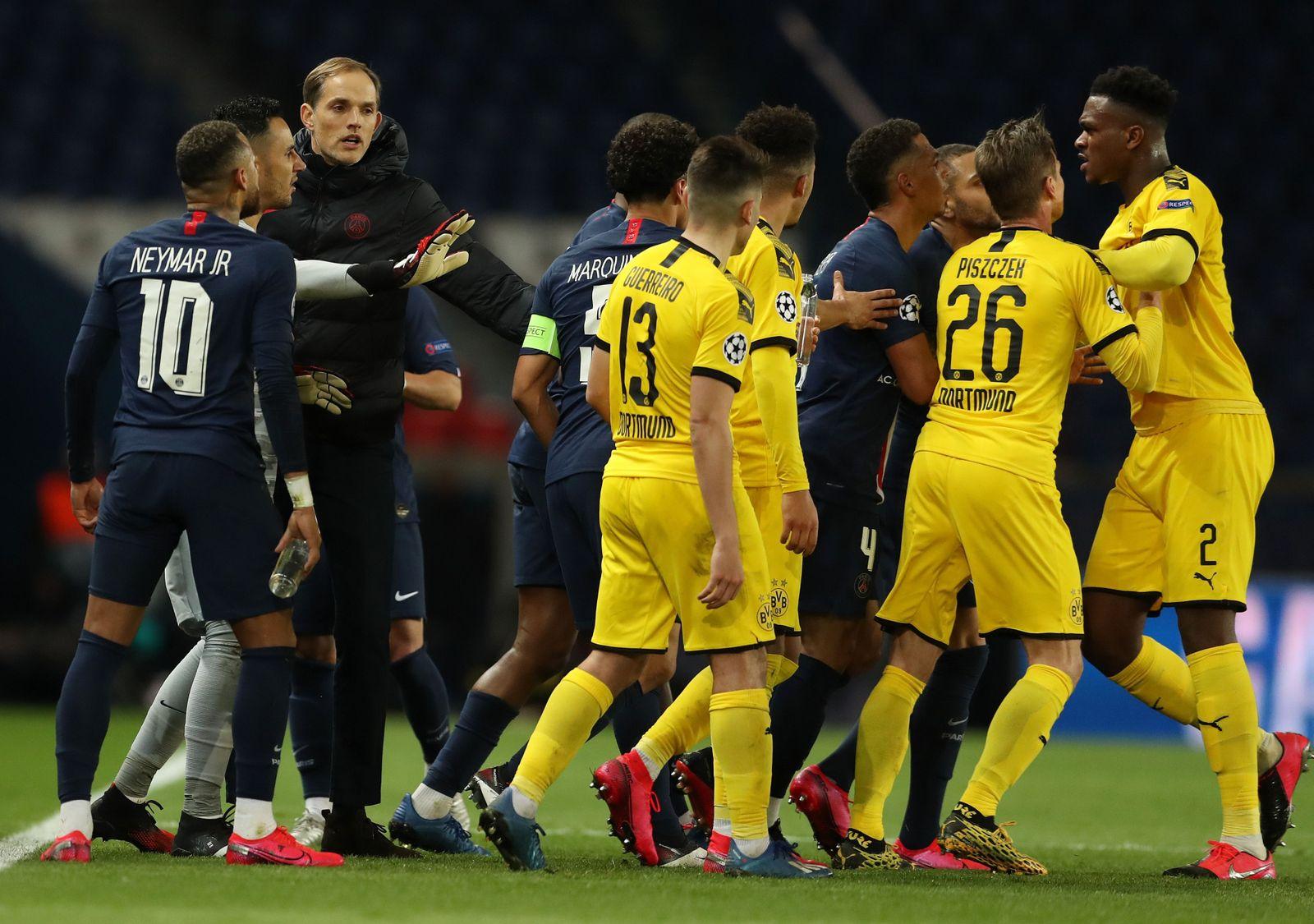 Paris Saint-Germain vs Borussia Dortmund, France - 11 Mar 2020