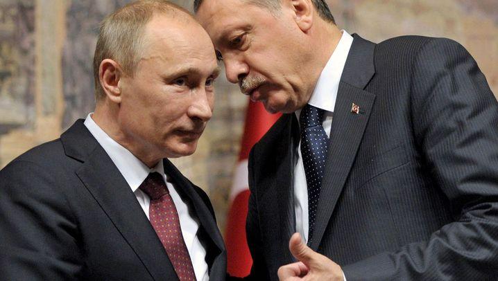 Erdogan trifft Putin: Gas, Tomaten und ein Atomkraftwerk