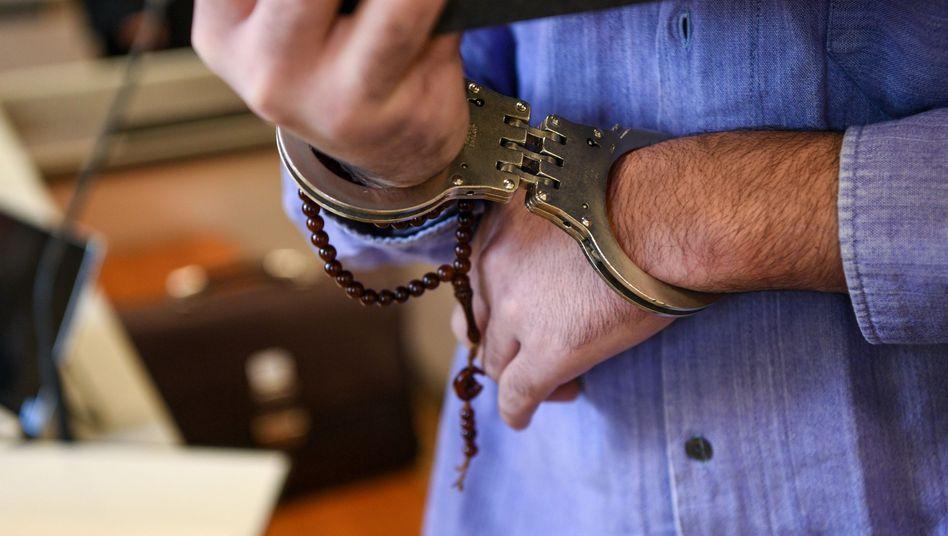 Angeklagter im Landgericht Ravensburg