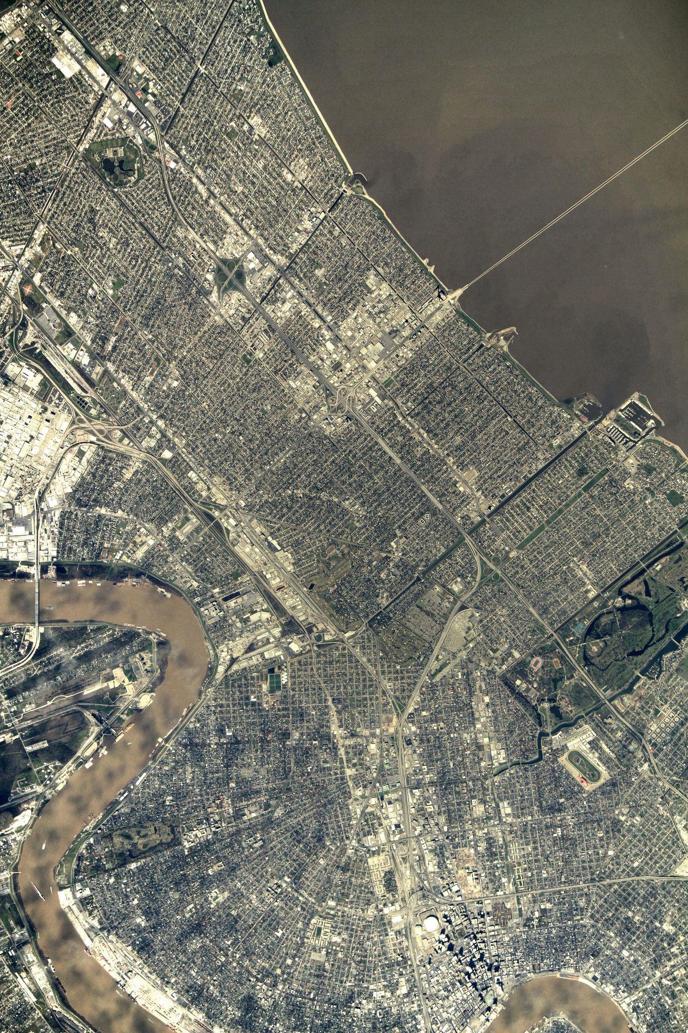 EINMALIGE VERWENDUNG Satbild der Woche / New Orleans