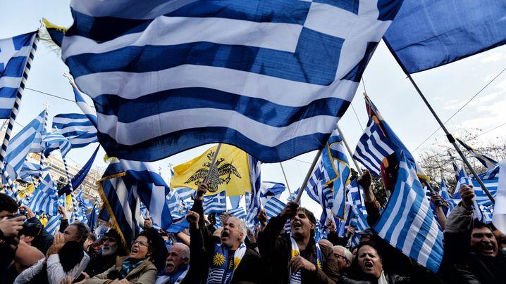 Proteste in Athen: Die Wut der Straße
