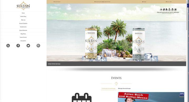 Erfolgsprodukt Sultan-Cola