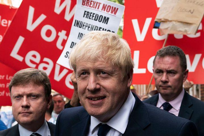 Boris Johnson: Drohung mit dem harten Brexit