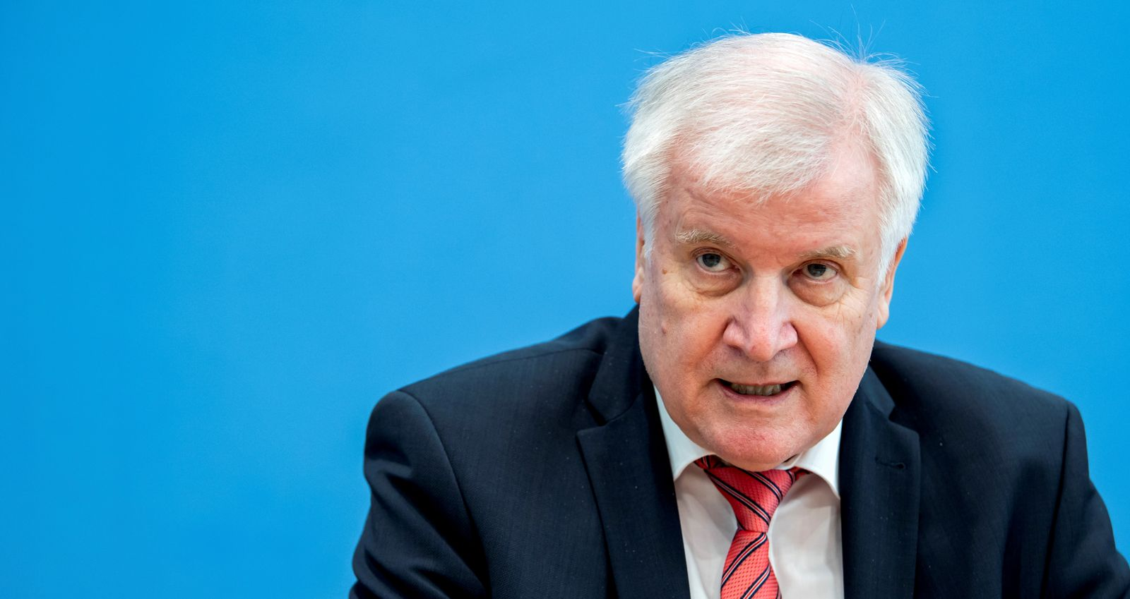 FILE PHOTO: News conference of German Interior Minister Seehofer on German national cyber defence report 2020