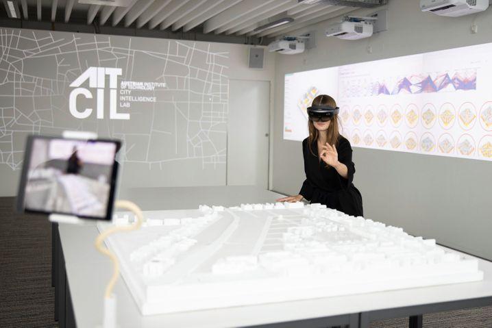 Zukunftslabor für Städteplanung: Mit künstlicher Intelligenz können verschiedene Szenarien simuliert werden