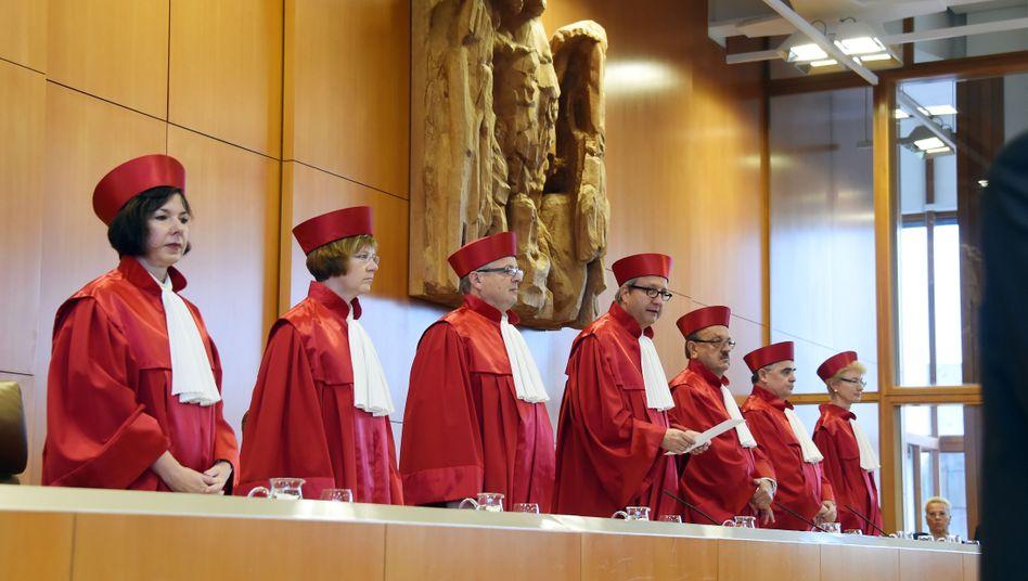 Bundesverfassungsgericht in Karlsruhe: Mehr Beweise gefordert