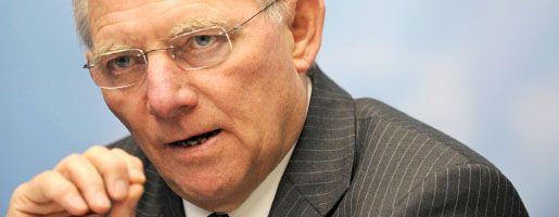 Innenminister Schäuble: Krisentreffen mit Ministerkollegen