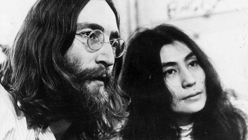 John Lennon und Yoko Ono (1969)
