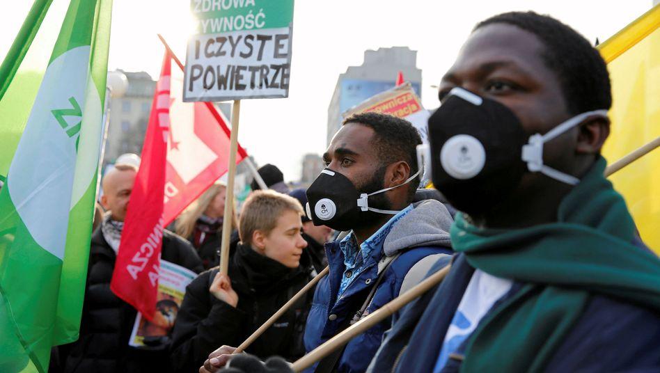 Katowice während der Klimakonferenz