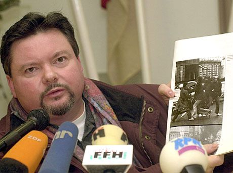 Ex-Polizist Rainer Marx: Von Fischer verprügelt?