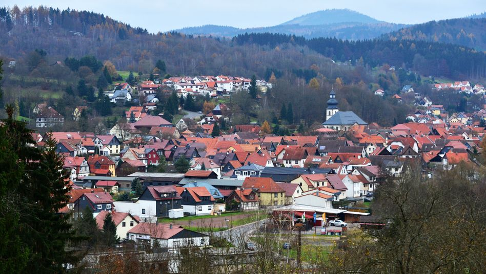 Thüringer Wald bei Suhl