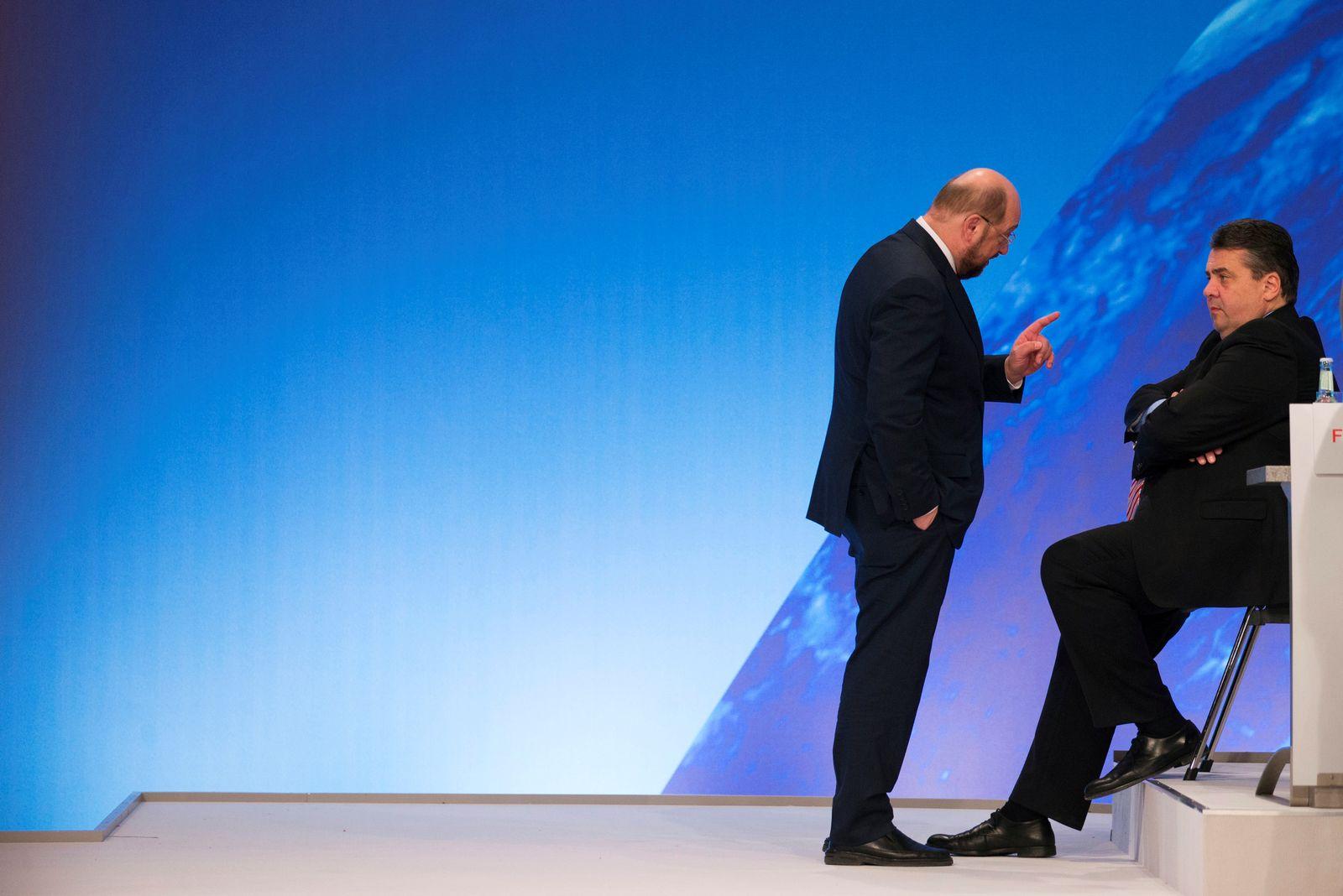 Martin Schulz und Sigmar Gabriel