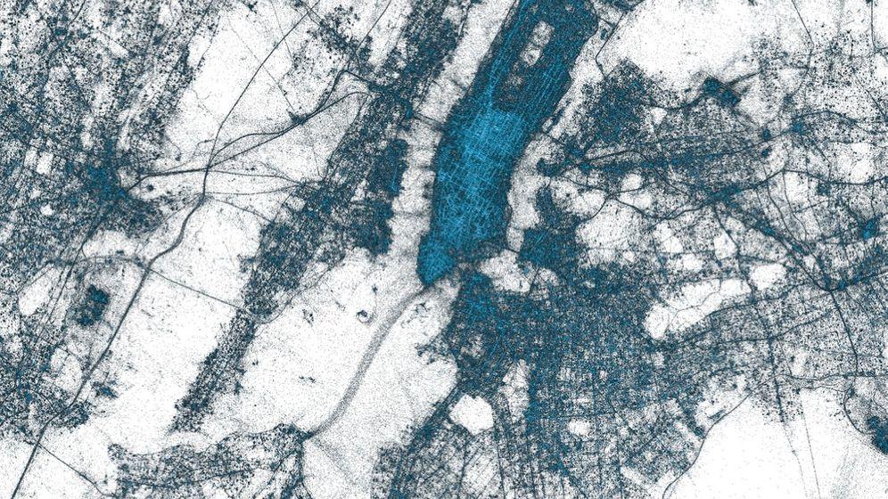 Twitter: Die Tweets auf der Weltkarte