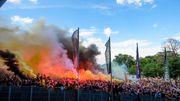 Tausende Dresden-Fans ignorieren Corona-Regeln