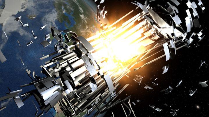 Weltraumschrott: Rasende Geschosse im Orbit