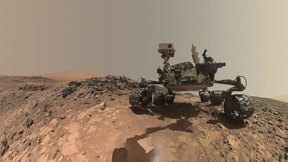 Foto auf dem Mars: Curiositys kurioser Selfie
