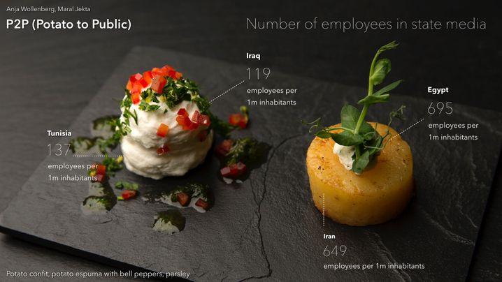 Informationsmedium Kartoffel: Wie viele Menschen arbeiten in staatlichen Medien?