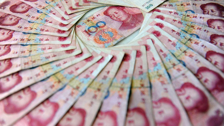 Renminbi-Banknoten: Handel zwischen China und Euro-Raum erleichtert
