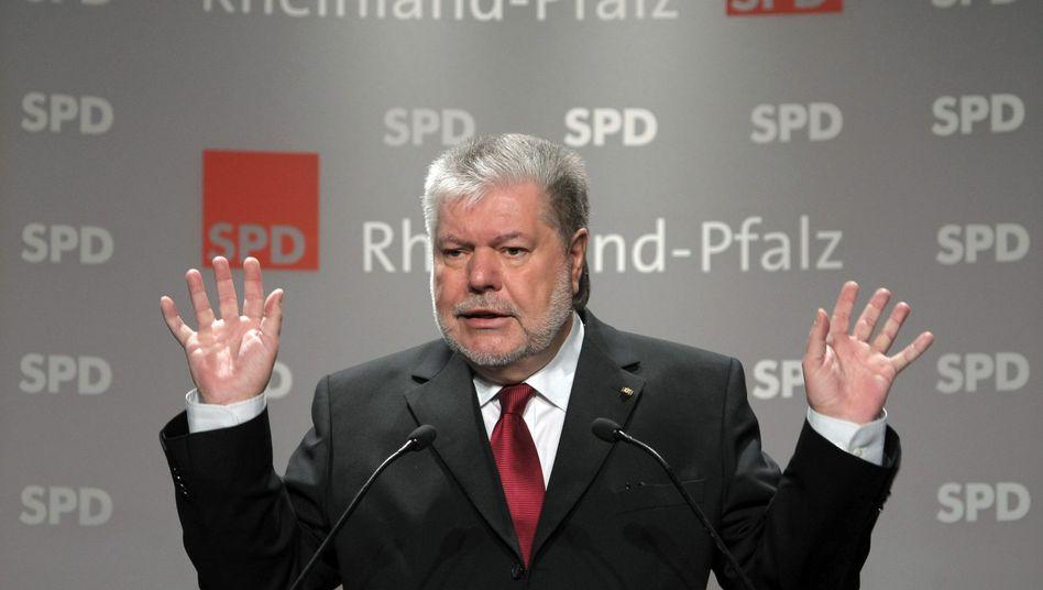 """Ministerpräsident Kurt Beck: """"Moderne Form des Raubrittertums"""""""