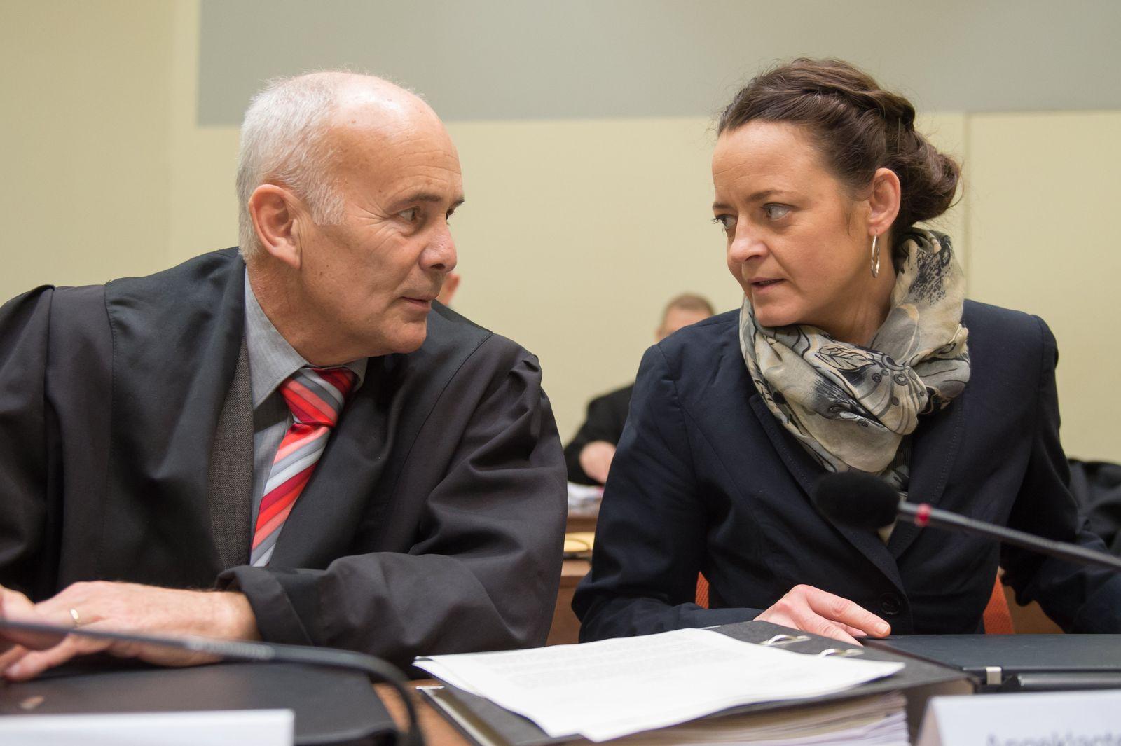 NSU-Prozess Borchert Zschäpe