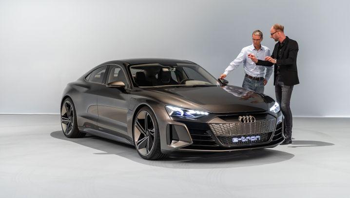 Audi e-tron GT: Monsieur 800 Volt