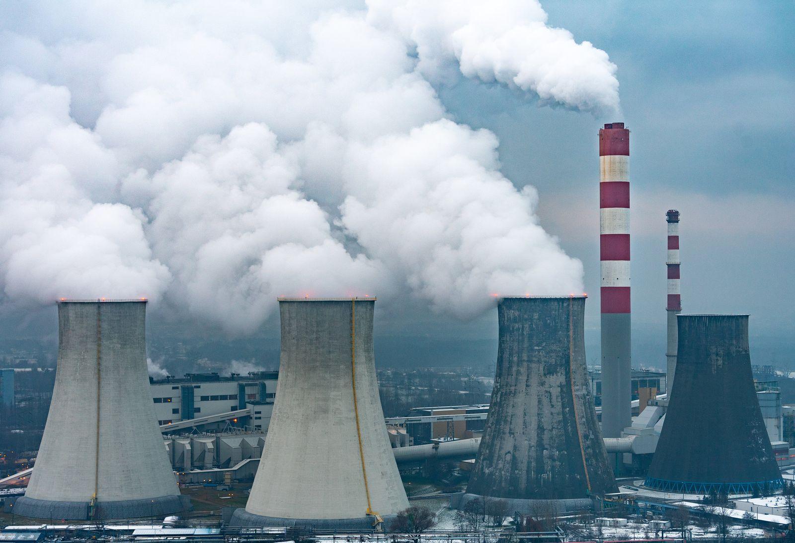 Kohlekraftwerk in Polen