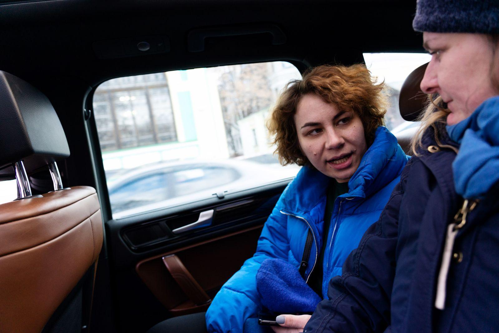 EINMALIGE VERWENDUNG Ukraine/ Serie/ Korruptionsbekämpferin / Kateryna