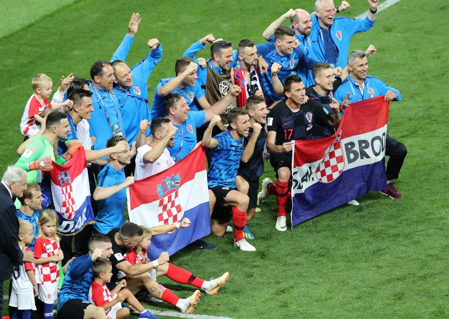 Kroatien Fußballmannschaft