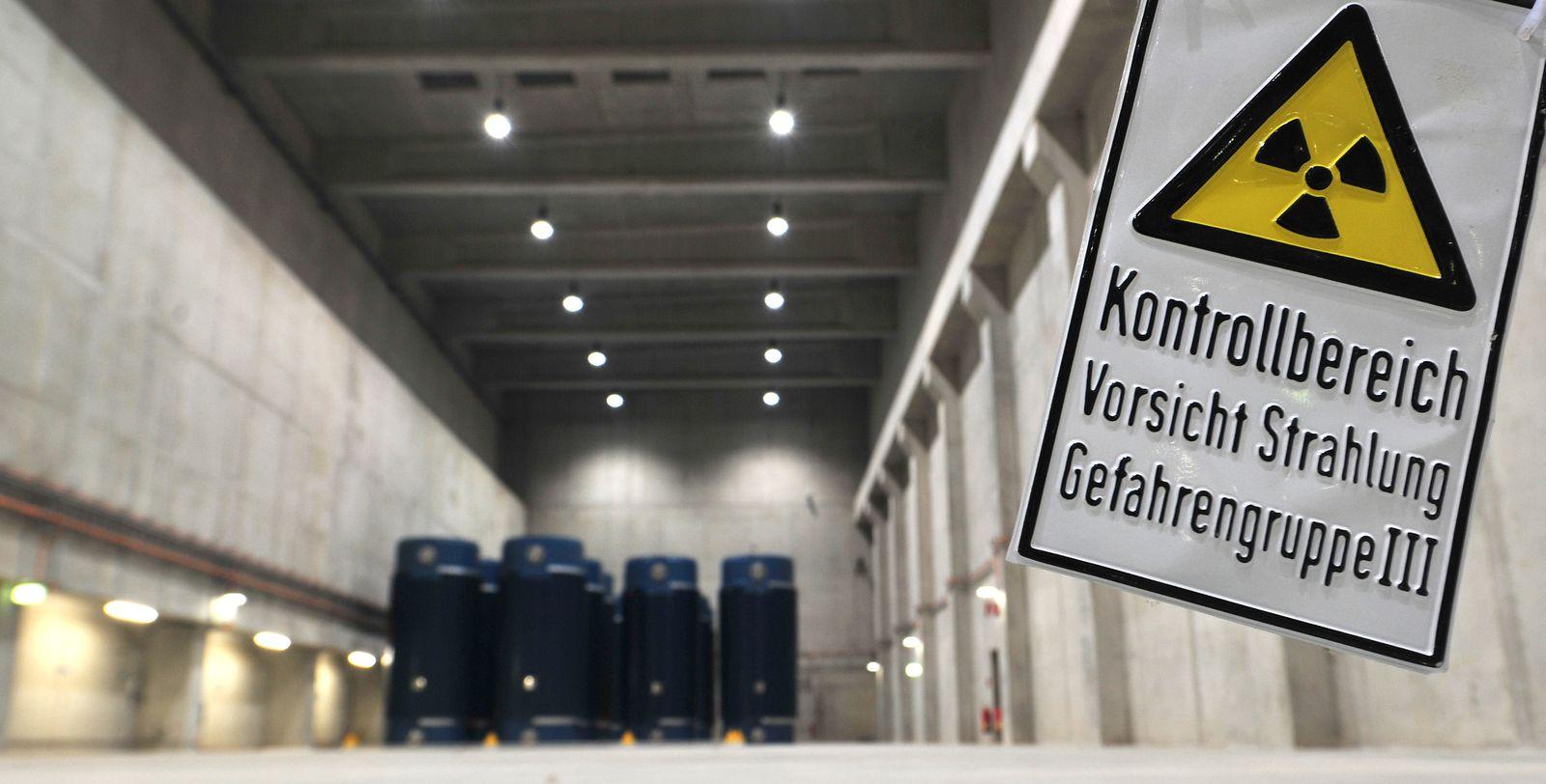 Zwischenlager im Kernkraftwerk Gundremmingen