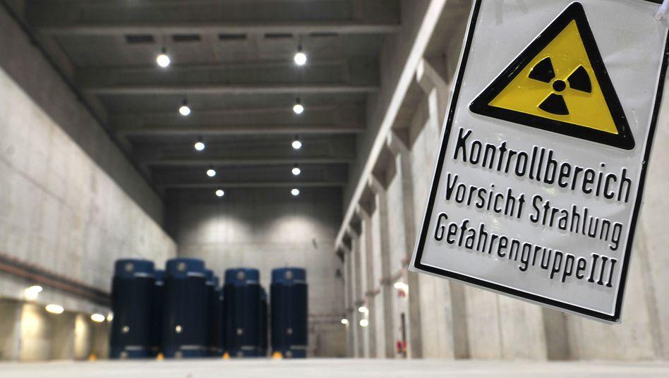 Castoren im Zwischenlager Grundremmingen (Archivbild)