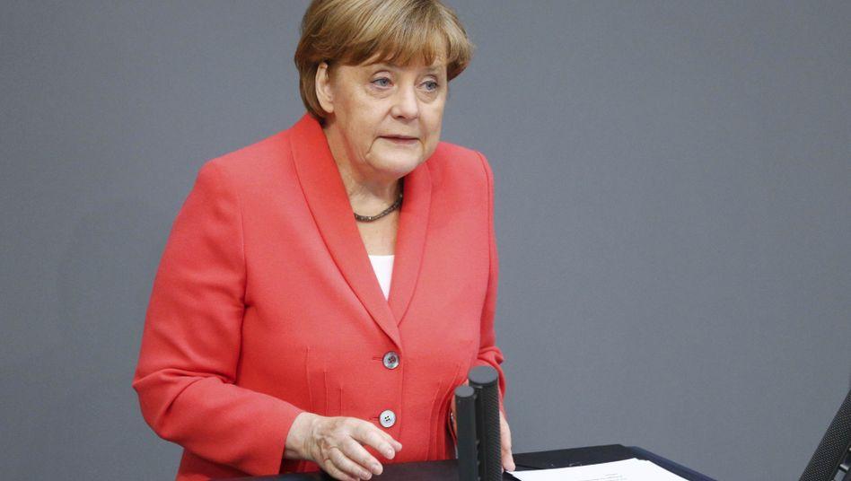 Drohende Staatspleite Griechenlands: Merkel bleibt hart