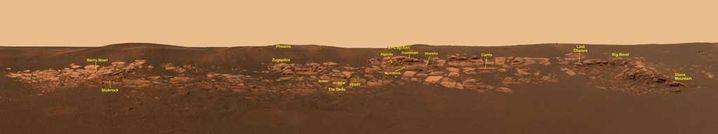 "Mars-Panorama: So sieht ""Opportunity"" den Roten Planeten"