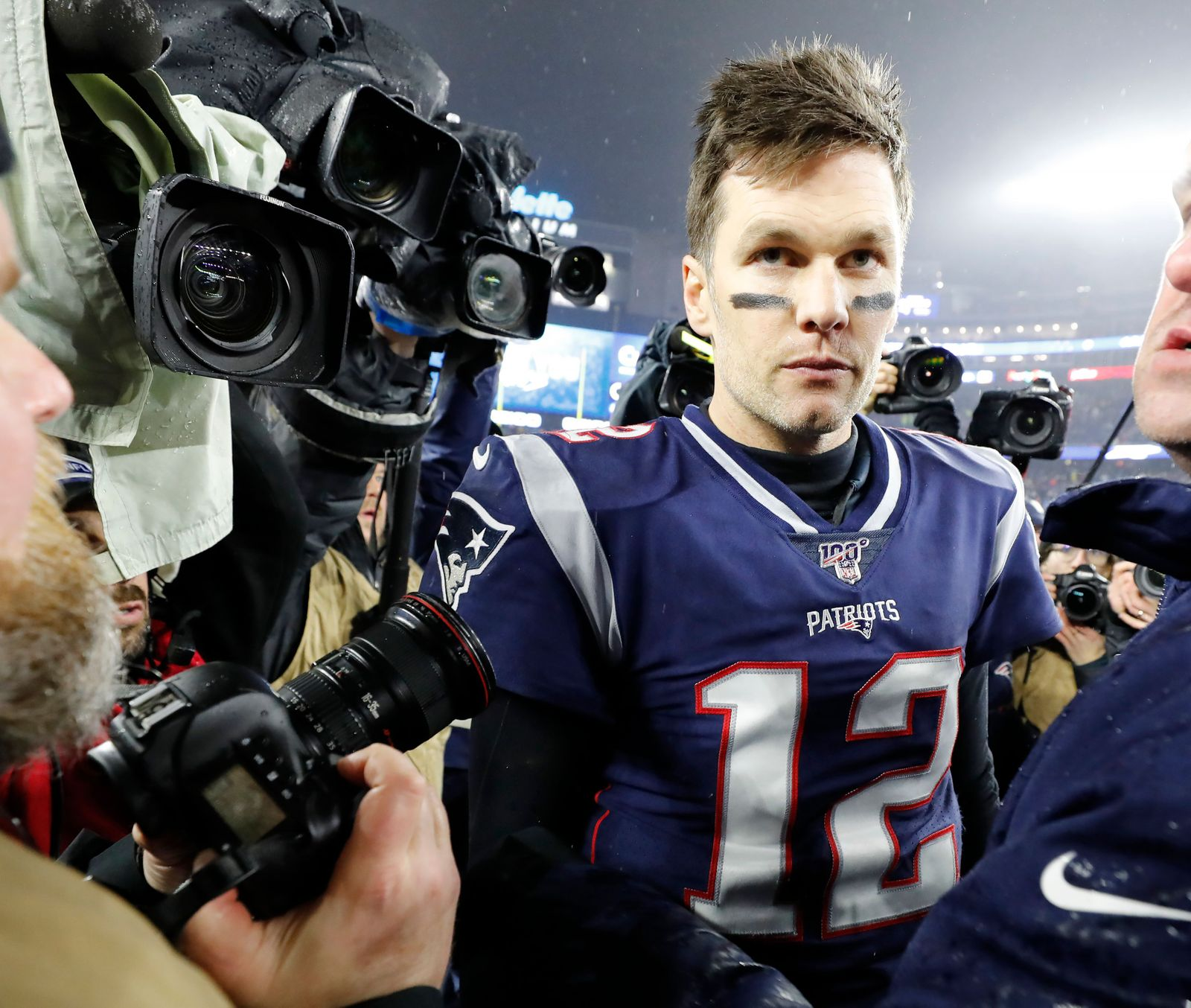 Tom Brady announces to leave the New England Patriots, Foxborough, USA - 04 Jan 2020