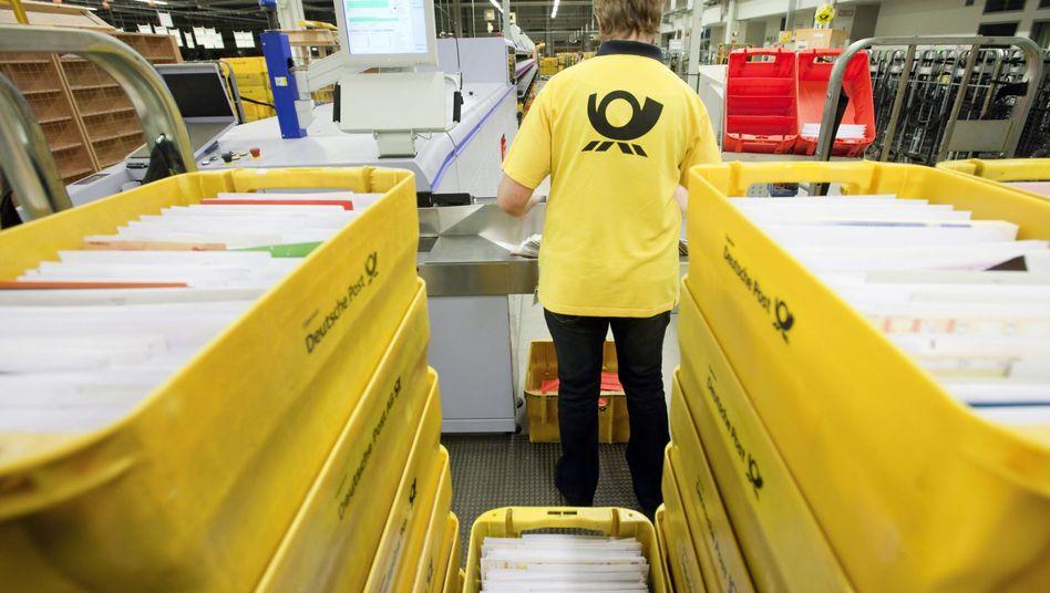 Deutsche Post (Briefzentrum): Datensammlung zum Verkauf angeboten