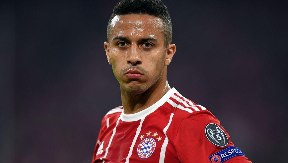 Bayerns Thiago nach der Niederlage