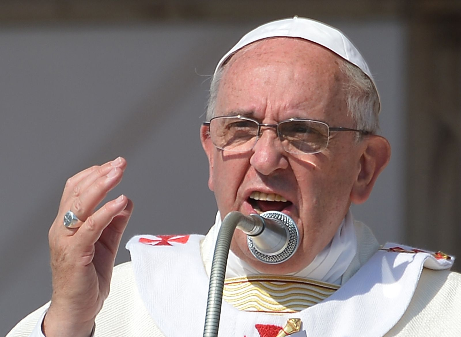ITALY-POPE-CALABRIA-VISIT