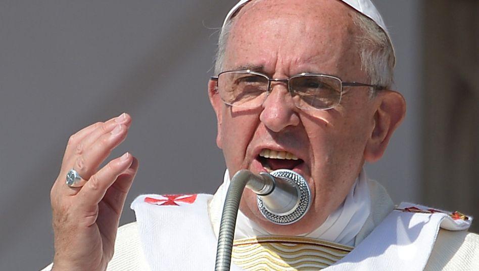 """Papst Franziskus: """"Kein Kind darf durch die Mafia sterben"""""""