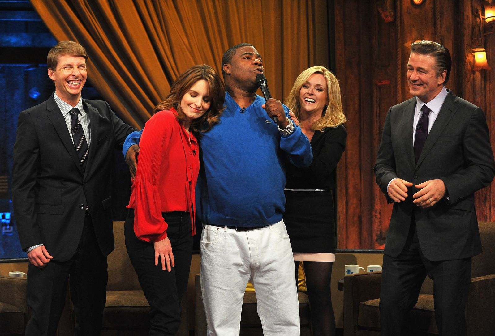 "Cast Of ""30 Rock"" Visits ""Late Night With Jimmy Fallon"""
