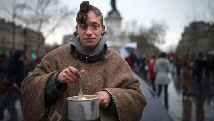 """Demonstranten in Paris: Die Gesichter von """"Nuit debout"""""""