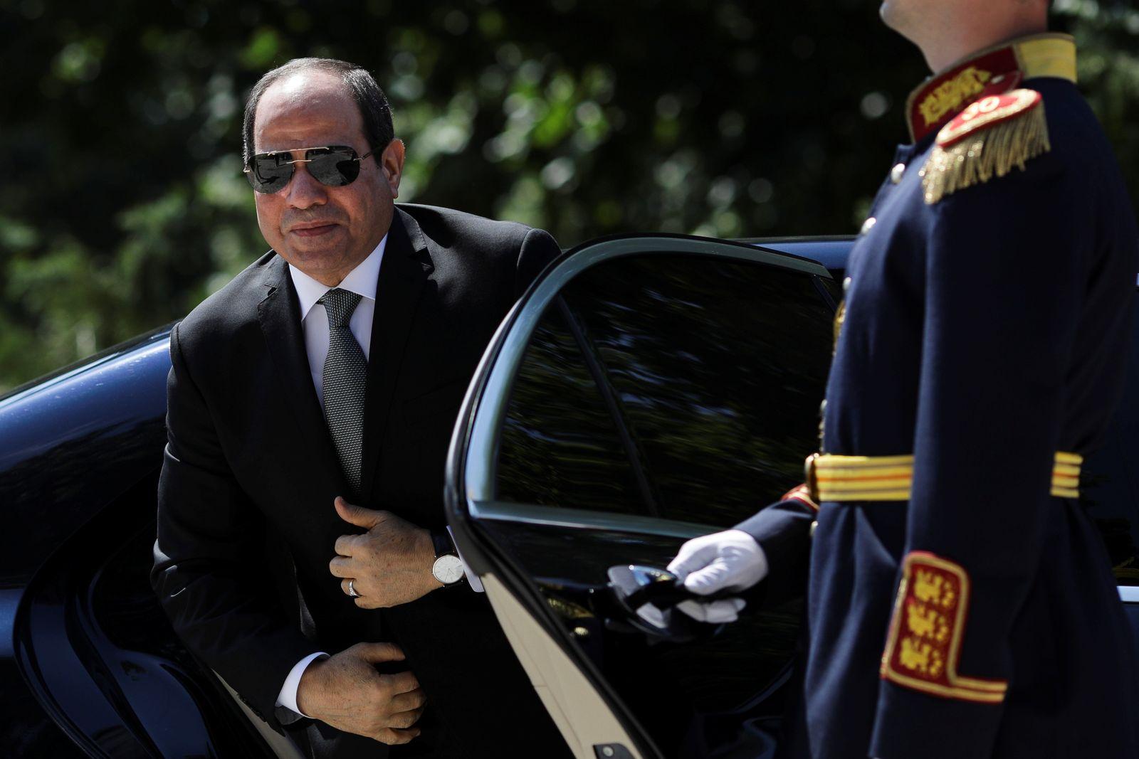Egyptian President Abdel Fattah al-Sisi visits Romania