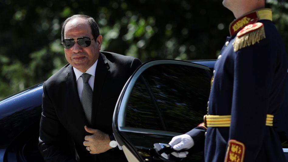 Trägt offenbar die gleichen Sonnenbrillenmodelle wie Joe Biden: Abdel Fattah el-Sisi