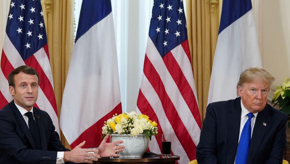 Nato-Gipfel in London: Die Queen freut's