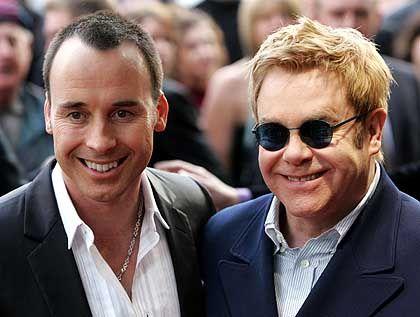 David Furnish und Elton John: Hochzeit nach zwölf Jahren