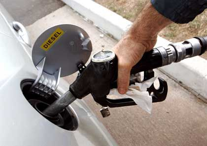 Diesel tanken: In den USA werden Diesel-Zapfsäulen allmählich auch für Pkw-Fahrer populärer