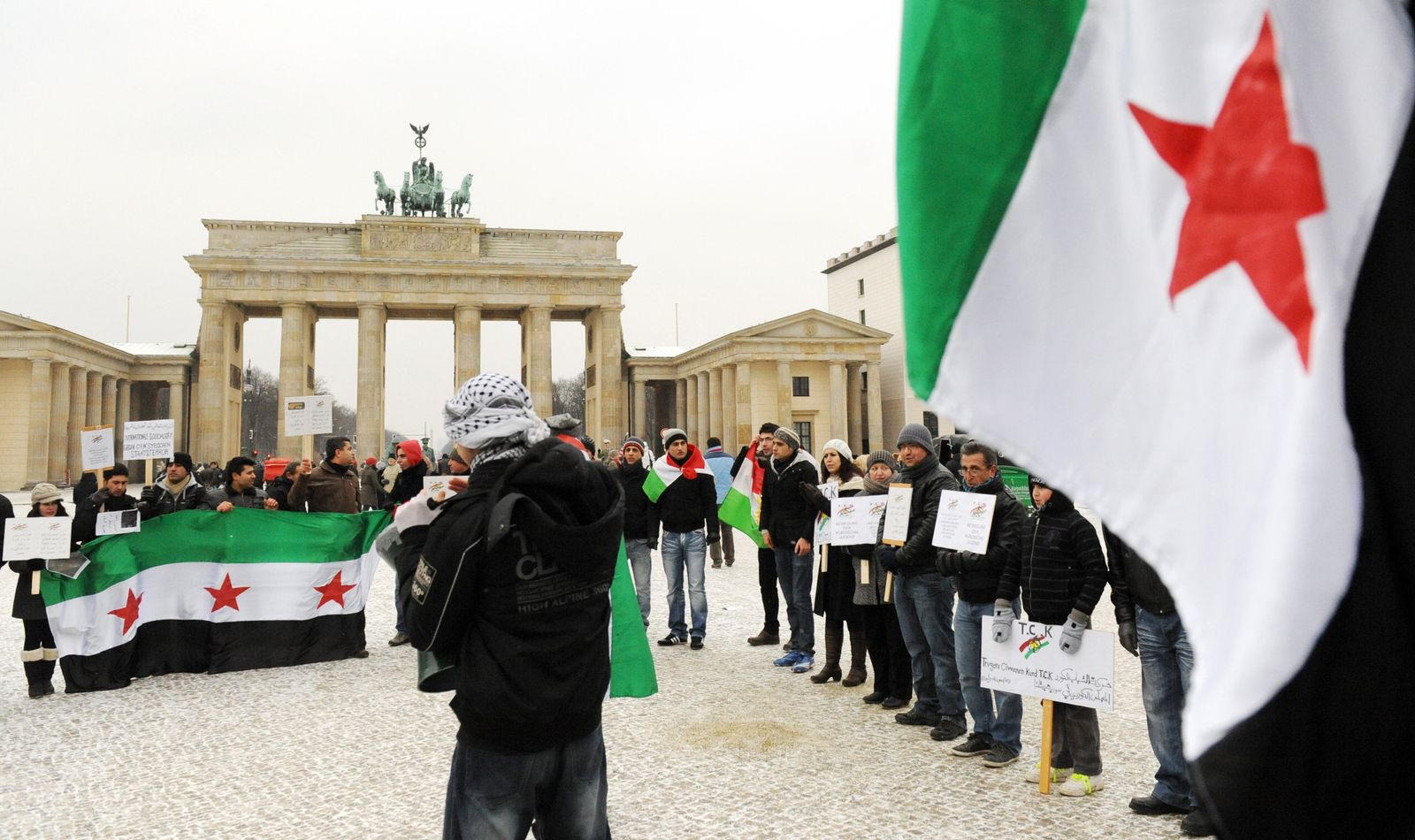 Anti-Assad-Demo Berlin