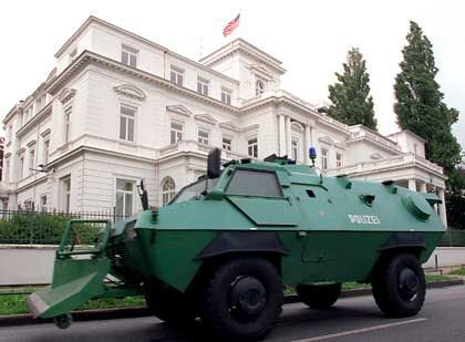 Das US-Konsulat in Hamburg