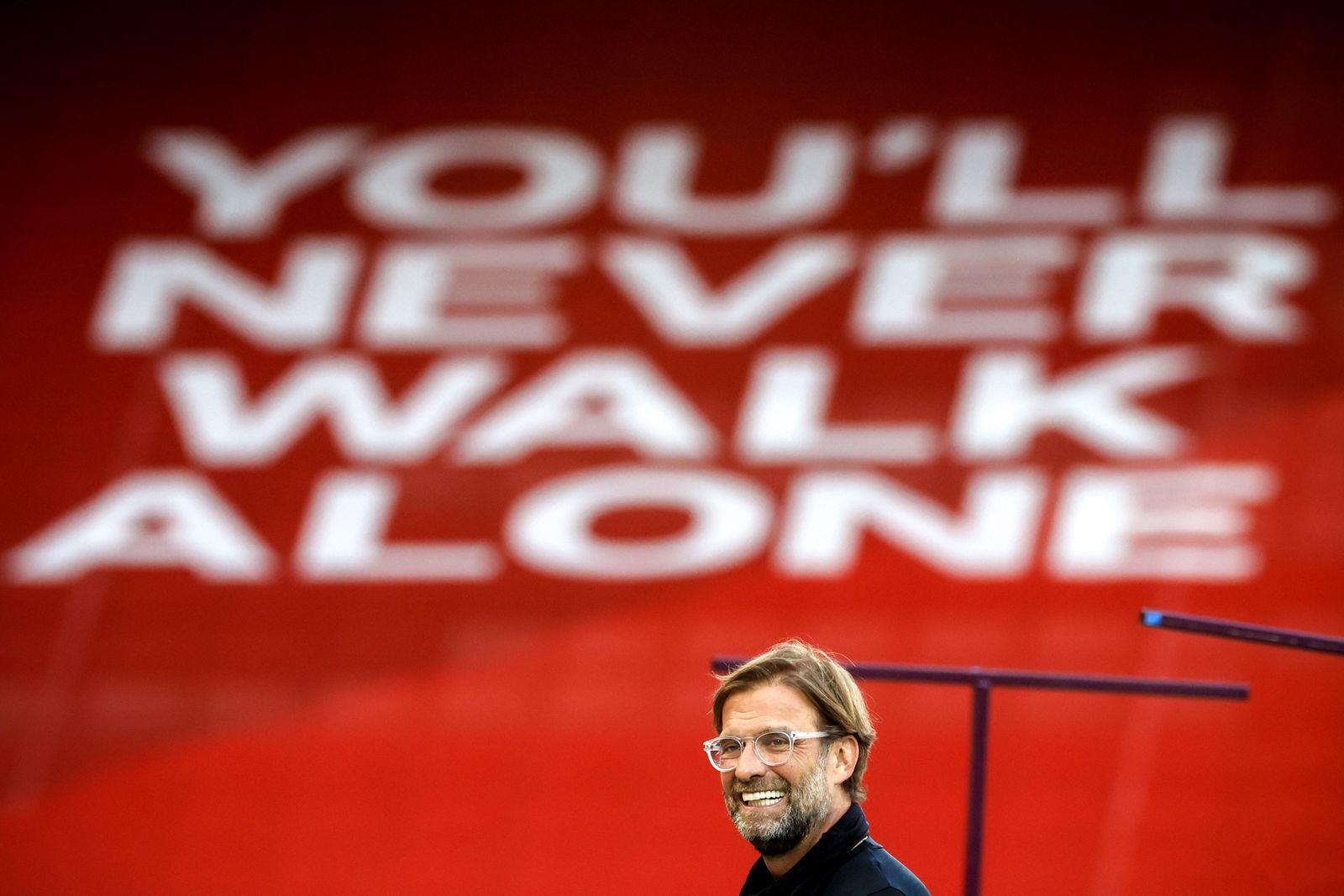 Liverpool FC vs Crystal Palace, United Kingdom - 24 Jun 2020